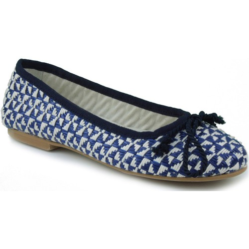 Shoes Women Flat shoes Oca Loca OCA LOCA RAFIA BLUE
