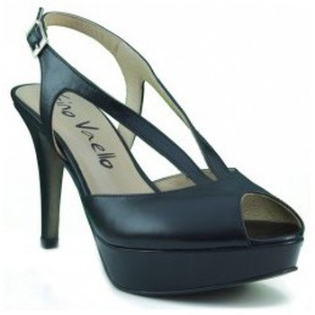 Shoes Women Heels Gino Vaello ALSKA IRIS BLACK