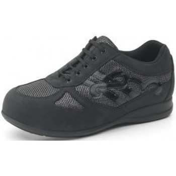 Shoes Women Low top trainers Calzamedi orthopedic sneakers BLACK