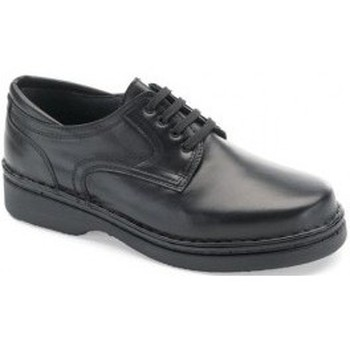 Shoes Men Derby Shoes Calzamedi very comfortable orthopedic Knight BLACK