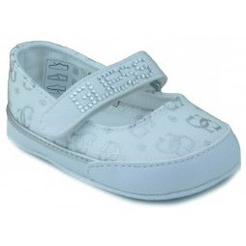 Shoes Girl Slippers Guess textile dancer to drink WHITE
