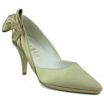 Shoes Women Heels Marian party satin shoe woman GOLDEN