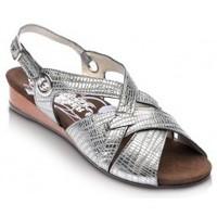 Shoes Women Sandals Drucker Calzapedic comfortable sandal GREY