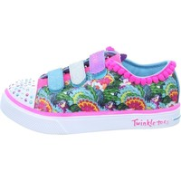 Shoes Girl Low top trainers Skechers Twinkle Breeze 20 Pink