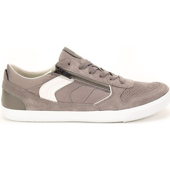 Shoes Men Low top trainers Geox Box Grey