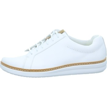 Shoes Women Low top trainers Clarks Amberlee Rosa White