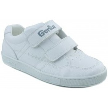 Shoes Boy Low top trainers Gorila SPORT SHOES FOR KIDS WHITE