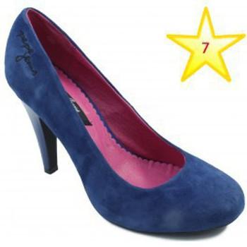 Shoes Women Heels Pepe jeans youth shoe heel BLUE