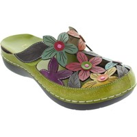 Shoes Women Clogs Laura Vita Billy 52 Vert