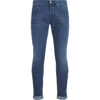 Clothing Men Jeans Dondup George blue/grey washed denim jeans Blue