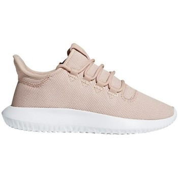 Shoes Children Low top trainers adidas Originals Tubular Shadow J Beige