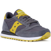 Shoes Men Trainers Saucony JAZZ CRACOAL GREEN Grigio