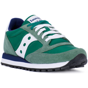 Shoes Men Trainers Saucony JAZZ GREEN WHITE Verde