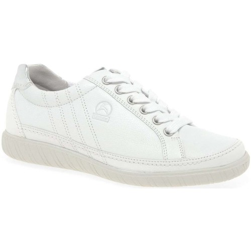 Shoes Women Low top trainers Gabor Amulet Womens Wide Fit Sneakers white