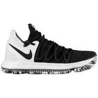 Shoes Men Low top trainers Nike Zoom KD 10 White-Black