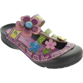 Shoes Women Sandals Laura Vita Phenix Violet