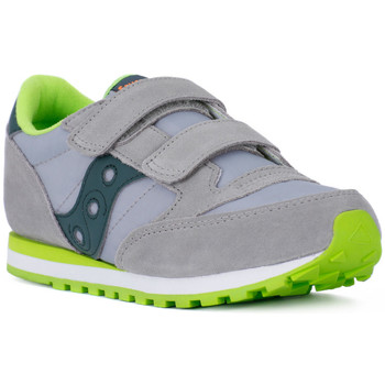 Shoes Boy Low top trainers Saucony KIDS JAZZ DOUBLE Grigio