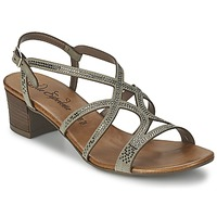 Shoes Women Sandals Lola Espeleta GUITARE Grey