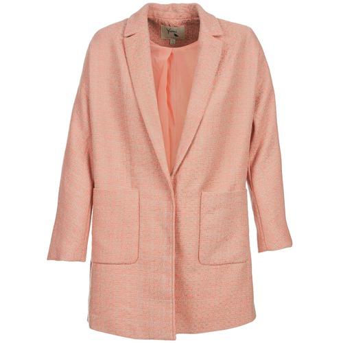 Clothing Women coats Yumi AEKA Pink