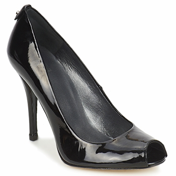 Shoes Women Heels Stuart Weitzman LOGOFLAME  BLACK / Patent