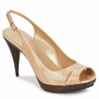 Shoes Women Sandals Stuart Weitzman ARAGON Nude / Aniline
