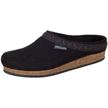 Shoes Women Slippers Stegmann Black Wollfilz