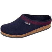 Shoes Women Slippers Stegmann Navy Wollfilz Black