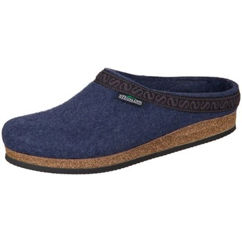 Shoes Women Slippers Stegmann Jeans Wollfilz Navy blue