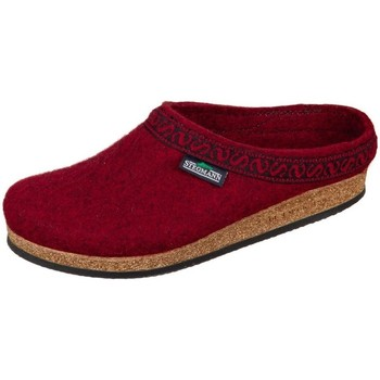 Shoes Women Slippers Stegmann Firebrick Wollfilz Burgundy