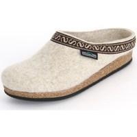 Shoes Women Slippers Stegmann Natur Wollfilz Beige