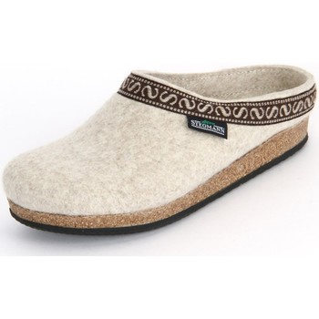 Shoes Women Slippers Stegmann Natur Wollfilz Beige