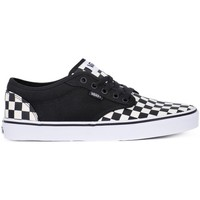 Shoes Men Low top trainers Vans Atwood Checkboard Black-White