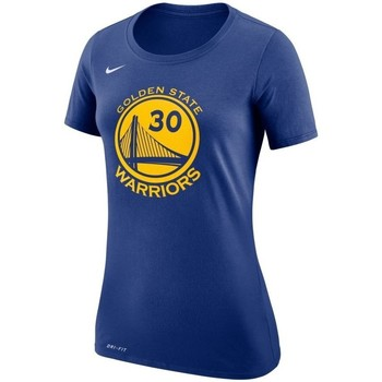 Clothing Men short-sleeved t-shirts Nike Curry Warriors