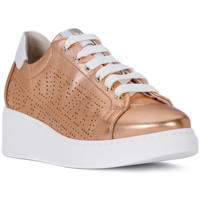Shoes Women Low top trainers Melluso AURORA SALMONE Rosa