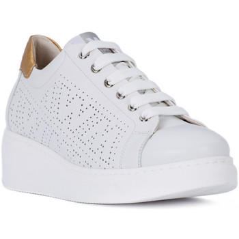 Shoes Women Low top trainers Melluso AURORA BIANCO Bianco