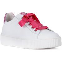 Shoes Girl Low top trainers Nero Giardini NERO GIARDINI  MANAUS BIANCO Bianco