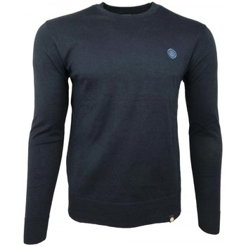 Clothing Men Long sleeved tee-shirts Pretty Green Crew Neck Knitted Jumper blue