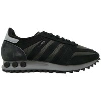 Shoes Men Low top trainers adidas Originals LA Trainer black