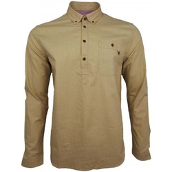 Clothing Men long-sleeved shirts Pretty Green Overhead Shirt Other