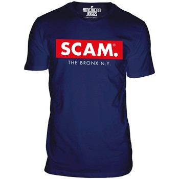 Clothing Men short-sleeved t-shirts American Joggs Scam - Block Shirt - Navy Blue