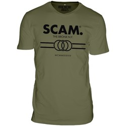 Clothing Men short-sleeved t-shirts American Joggs Scam - Line Shirt - Green Green