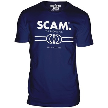Clothing Men short-sleeved t-shirts American Joggs Scam - Line Shirt - Navy Blue