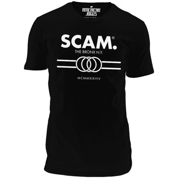 Clothing Men short-sleeved t-shirts American Joggs Scam - Line Shirt - Black Black