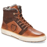 Shoes Men Hi top trainers Pantofola d'Oro BENEVENTO UOMO FUR MID Brown