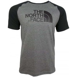 Clothing Men short-sleeved t-shirts The North Face M SS Rag Easy Tee grey
