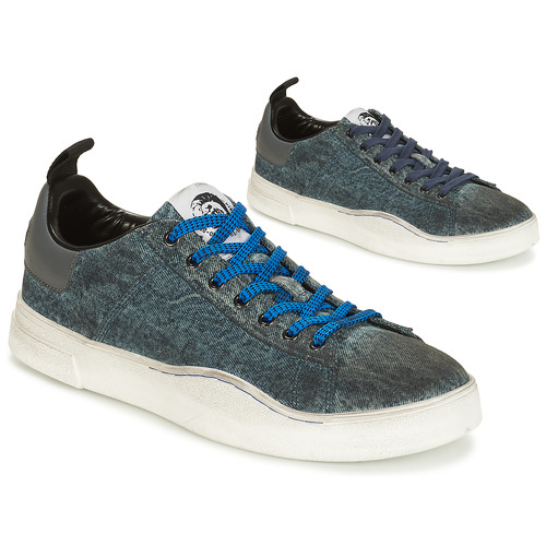Shoes Men Low top trainers Diesel S-CLEVER LOW Denim
