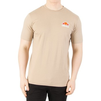 Clothing Men short-sleeved t-shirts Ellesse Men's Canaletto T-Shirt, Brown brown