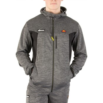 Clothing Men jumpers Ellesse Men's Venzio Poly Zip Hoodie, Grey grey