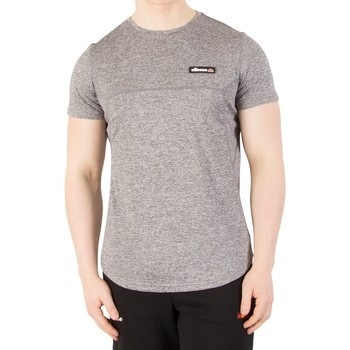 Clothing Men short-sleeved t-shirts Ellesse Men's Aicati Poly T-Shirt, Grey grey