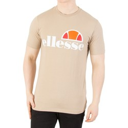 Clothing Men short-sleeved t-shirts Ellesse Men's Prado Graphic T-Shirt, Brown brown